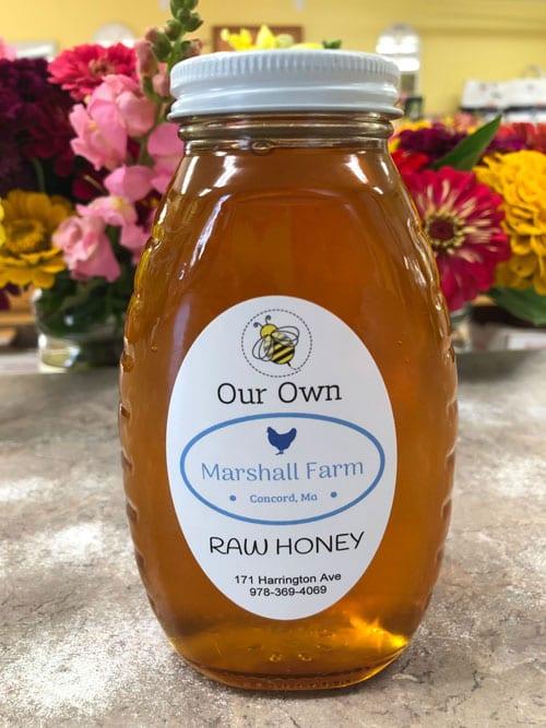 Marshall Farm Honey jar